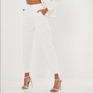 Brand new white Missguided jeans